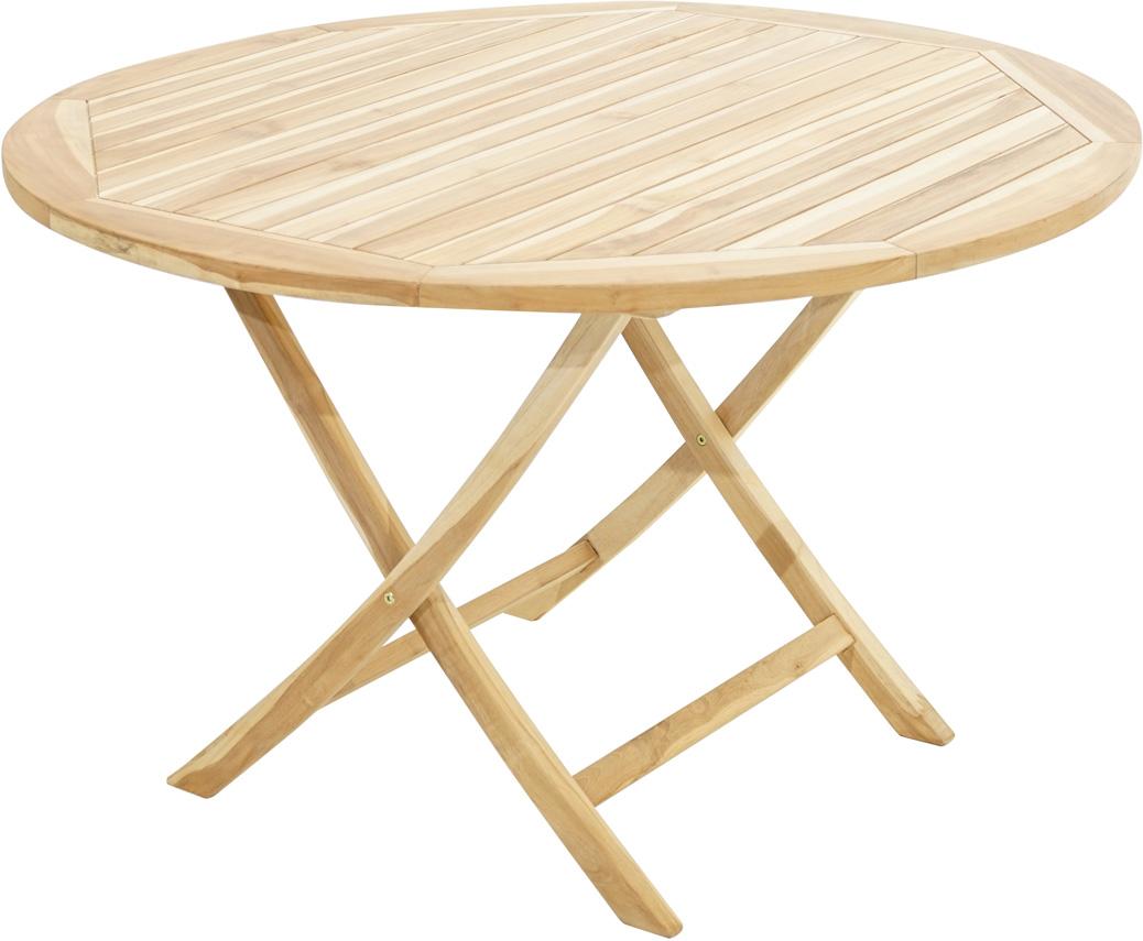 klapptisch lexington eco teak 120cm tische sale gardanio ihr online shop f r. Black Bedroom Furniture Sets. Home Design Ideas