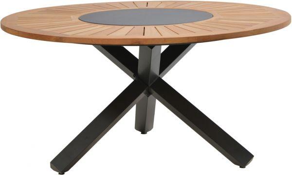 Tisch Tobago Teak O 150cm Gartentische Rund Gartentische