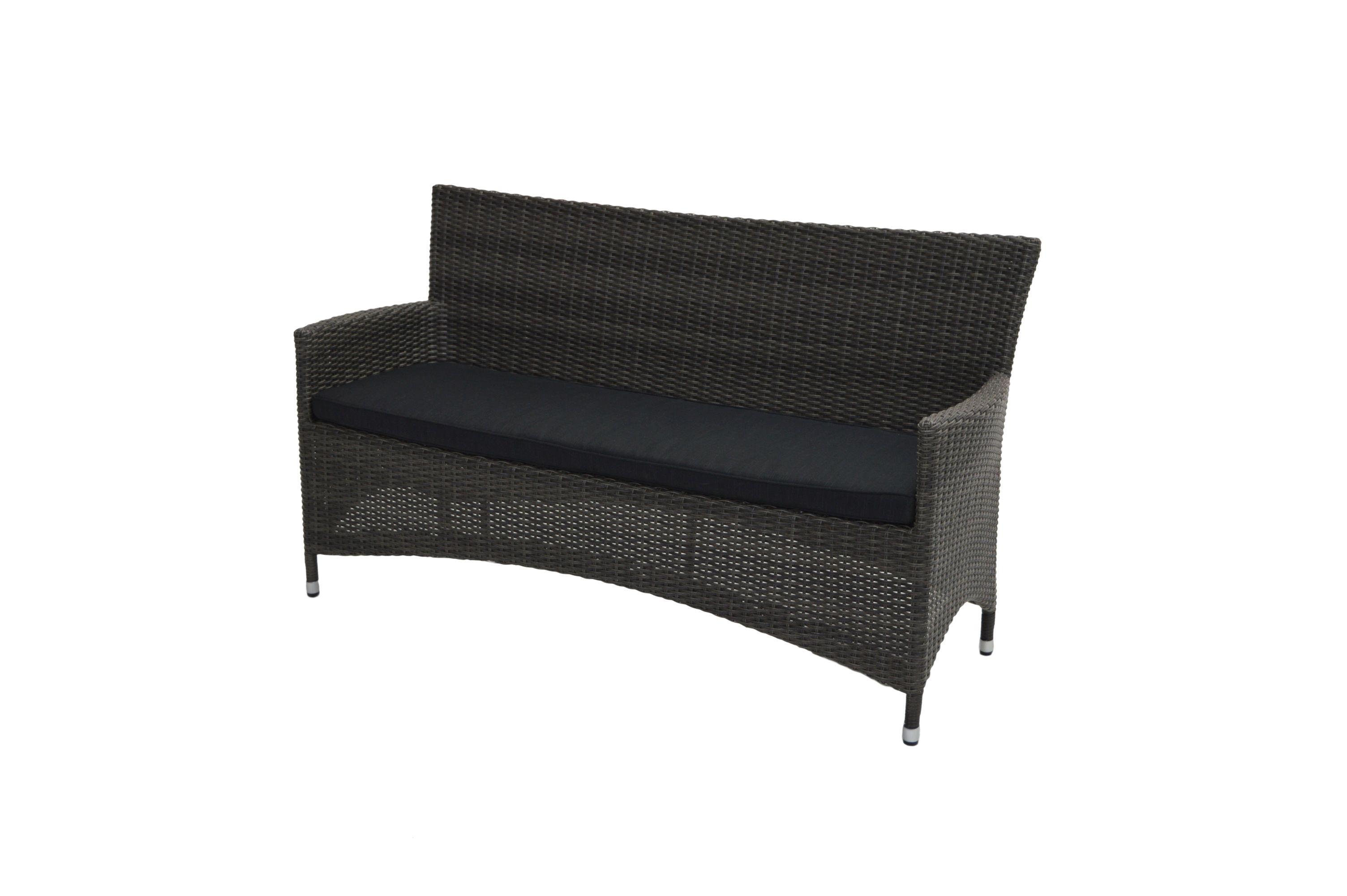 bank rocking basic 165cm polyrattangelfecht gartenb nke. Black Bedroom Furniture Sets. Home Design Ideas