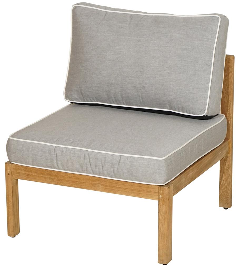 mittelelement gaya premium teak inkl polster loungem bel gartenm bel gardanio ihr. Black Bedroom Furniture Sets. Home Design Ideas