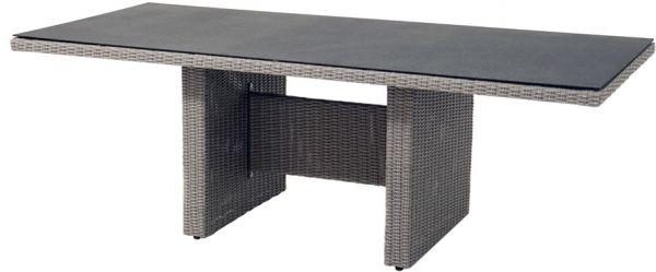Tisch VIGO Polyrattangeflecht 220x100cm
