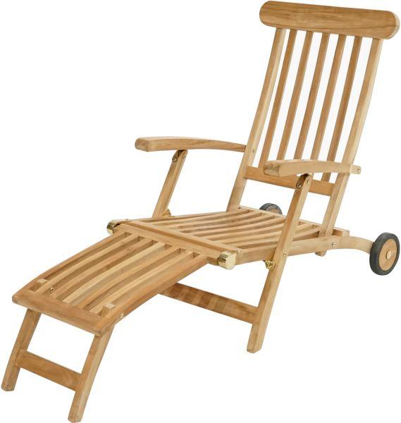 Deckchair PAMIR Premium Teak