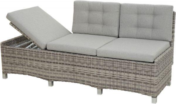 Design-Sofa SAHARA Polyrattangeflecht