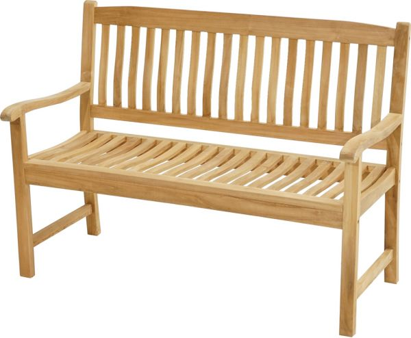 Landhausbank NEW HAVEN Premium Teak 130cm