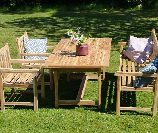 Gartenmöbel DININGSET 4 tlg. COVENTRY ECO - NASHVILLLE ECO