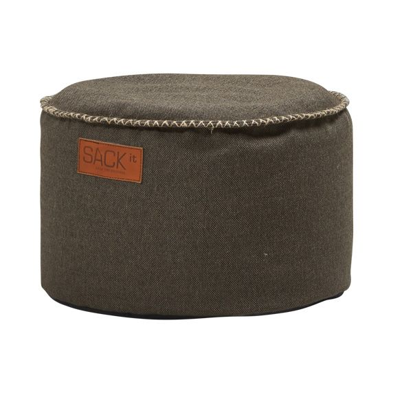 SACKit Cobana Pouf brown