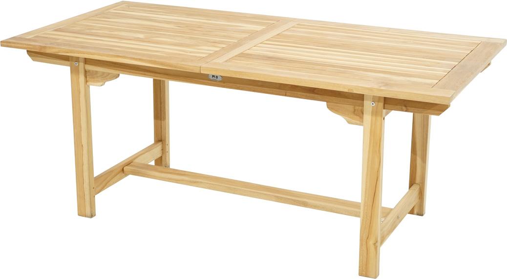 auszugstisch nashville eco teak 180 240x90cm tische sale gardanio ihr online shop f r. Black Bedroom Furniture Sets. Home Design Ideas
