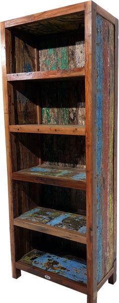 Bücherregal SEASIDE Unikate aus recycelten Fischerbooten