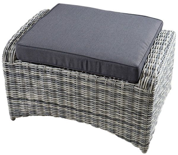 Hocker MIAMI Polyrattangeflecht