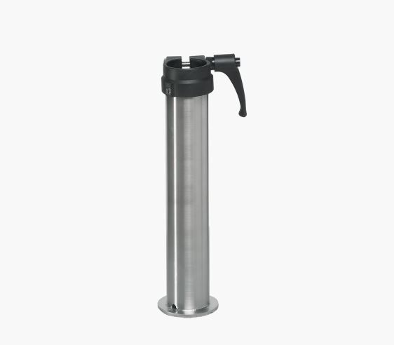 Standrohr Z GLATZ Ø25 mm Stahl verzinkt