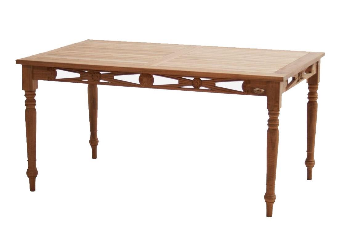 tisch cambridge teak svlk 150x90cm cambridge kollektionen ihr online. Black Bedroom Furniture Sets. Home Design Ideas