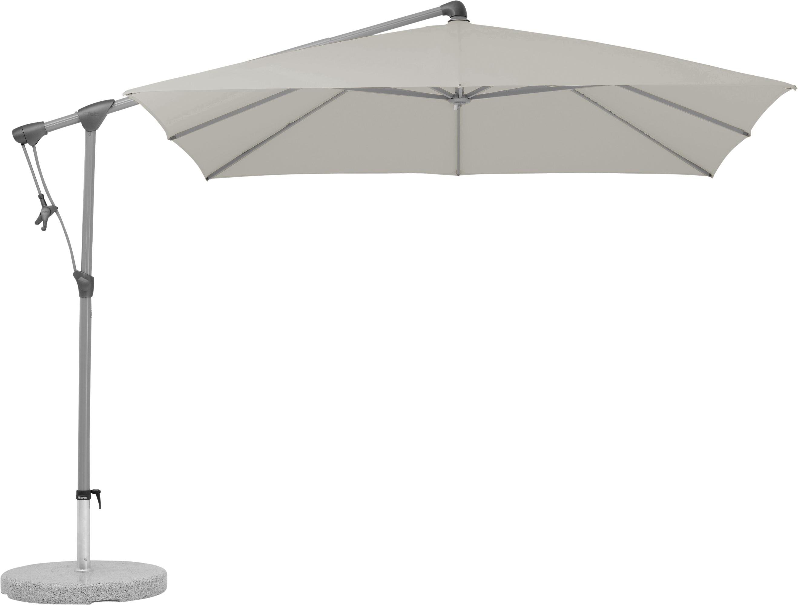 glatz sonnenschirm sunwing c taupe 260 x 260 cm sunwing c sonnenschirme gardanio ihr. Black Bedroom Furniture Sets. Home Design Ideas