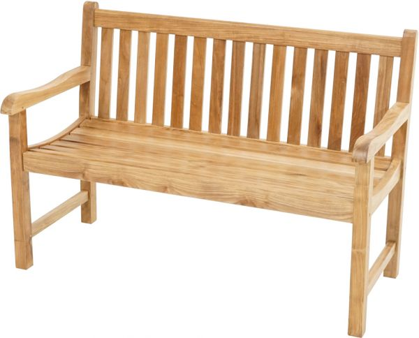 Landhausbank COVENTRY Premium Teak 130cm