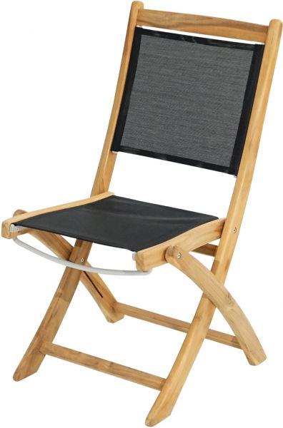 Klappstuhl FAIRCHILD Teak-Textilene®