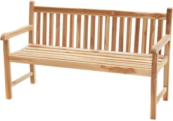 Landhausbank COVENTRY ECO 130cm ECO Teak