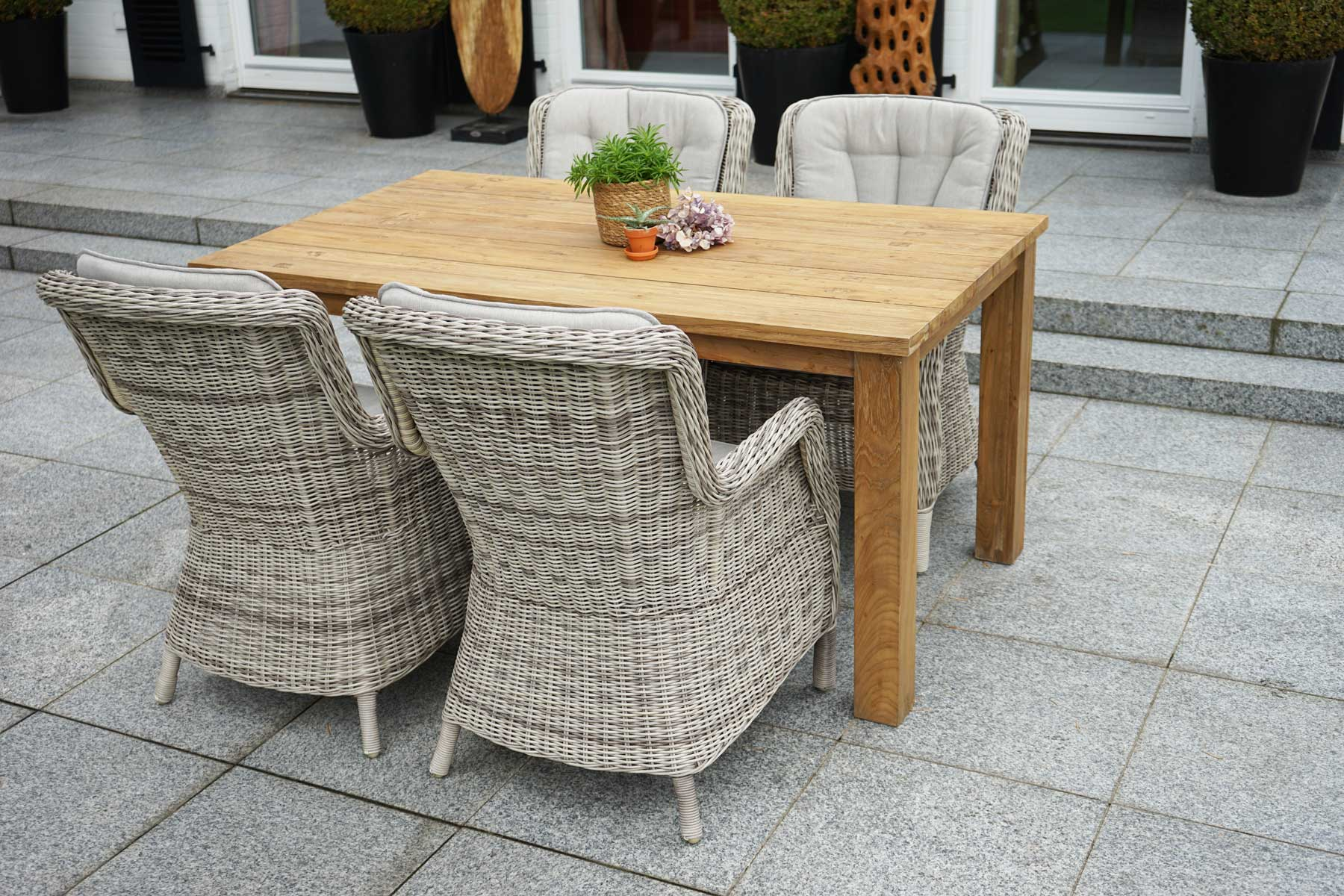gartenm bel diningset 5 tlg sahara picton set angebote gartenm bel gardanio ihr online. Black Bedroom Furniture Sets. Home Design Ideas