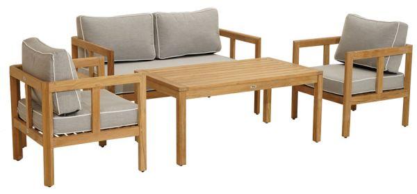 Modular-Lounge GAYA 4 tlg. Premkium Teak