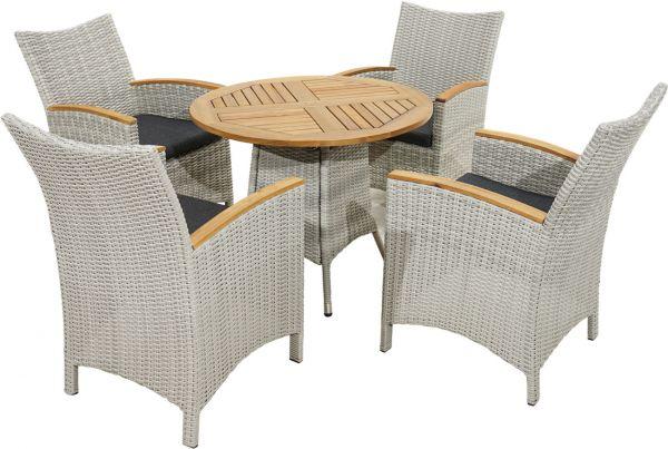 Lounge-Set ALICANTE Polyrattangeflecht