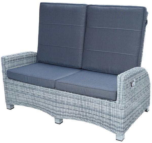 Comfort-2er-Sofa MIAMI Polyrattangeflecht