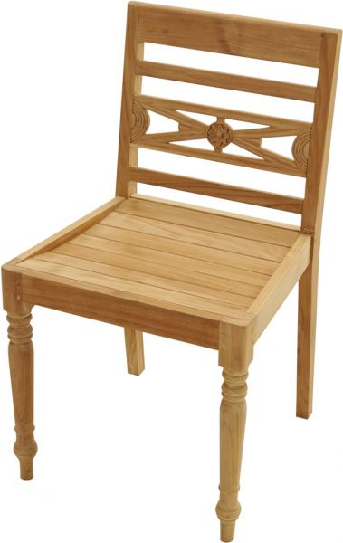 Ornamentstuhl CAMBRIDGE Premium Teak