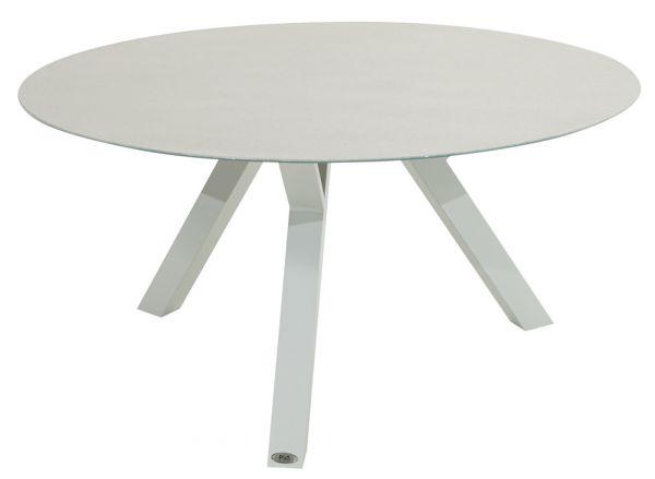 Tisch ANTIGUA, Aluminiumgestell Ø 150cm