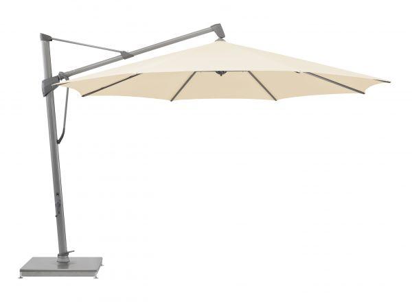 glatz sonnenschirm sombrano s easy eggshell 350 cm. Black Bedroom Furniture Sets. Home Design Ideas