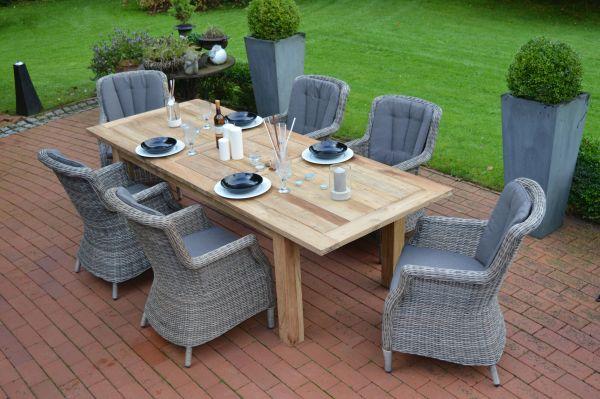 Gartenmöbel DININGSET 7 tlg. IDAHO-MIRANDA | Set-Angebote ...
