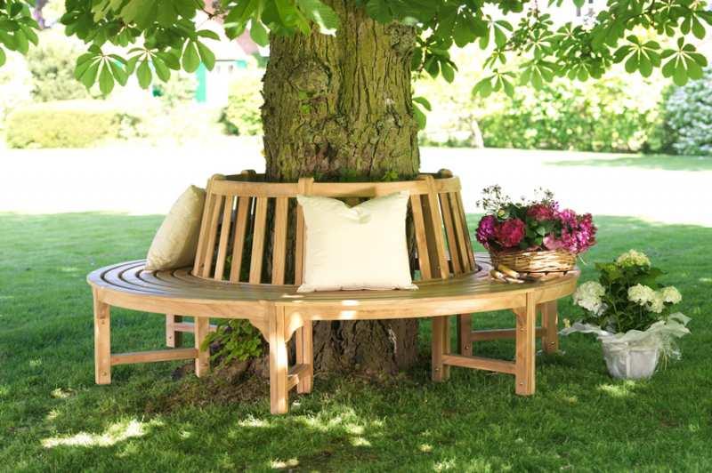 Teak Gartenmöbel & Dekoration - hochwertige Teakholz Gartenmöbel