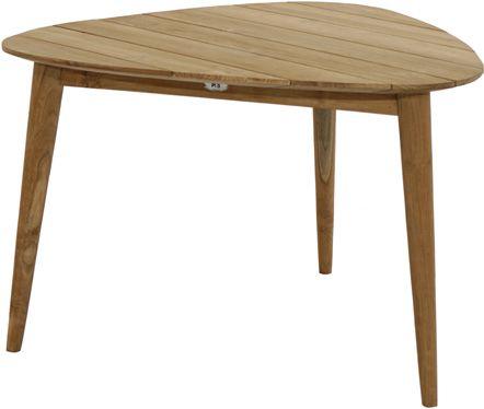 Design-Loft-Tisch WELLINGTON Premium Teak 110x110cm