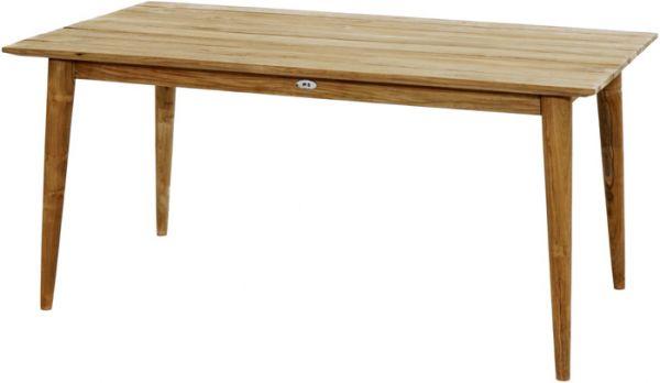 Design-Loft-Tisch WELLINGTON Premium Teak 160x90cm