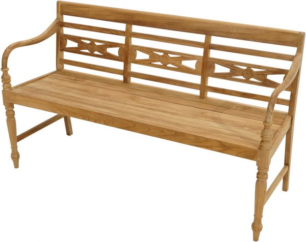 Bank CAMBRIDGE Premium Teak 150cm
