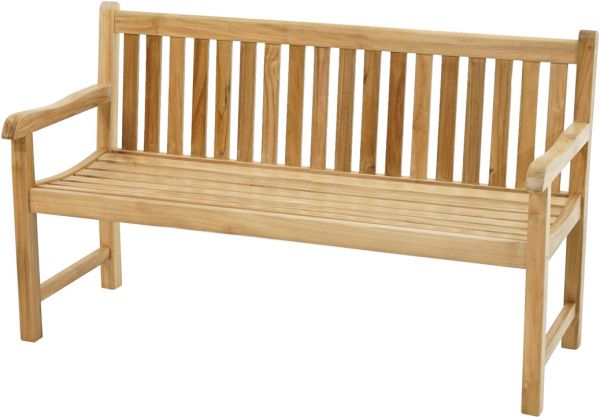 Landhausbank COVENTRY Premium Teak 150cm