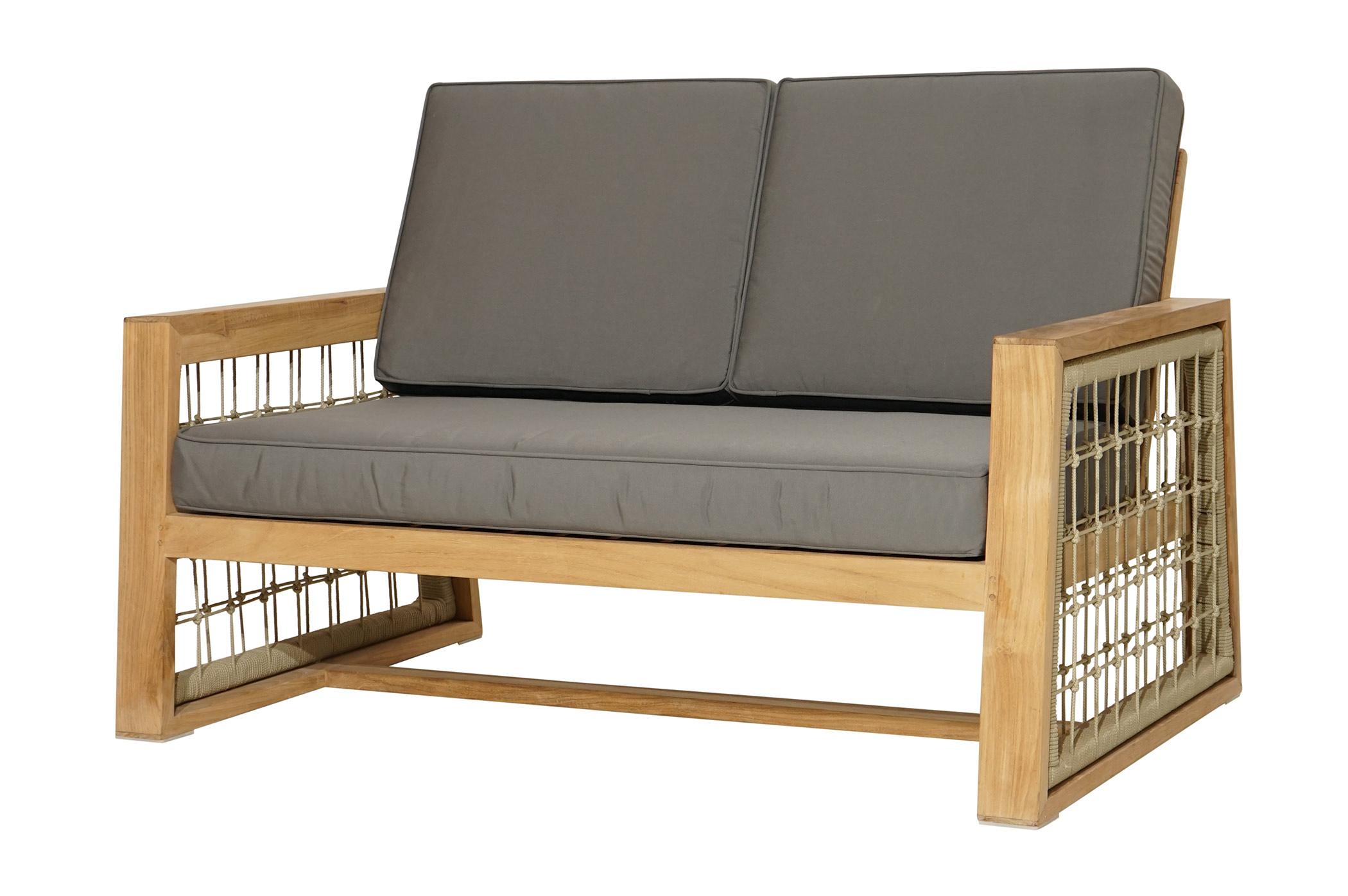 loungesofa martinique premium teak inkl polster loungem bel gartenm bel gardanio ihr. Black Bedroom Furniture Sets. Home Design Ideas