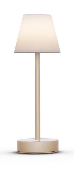 Tischleuchte LOLASLIM 30cm brass