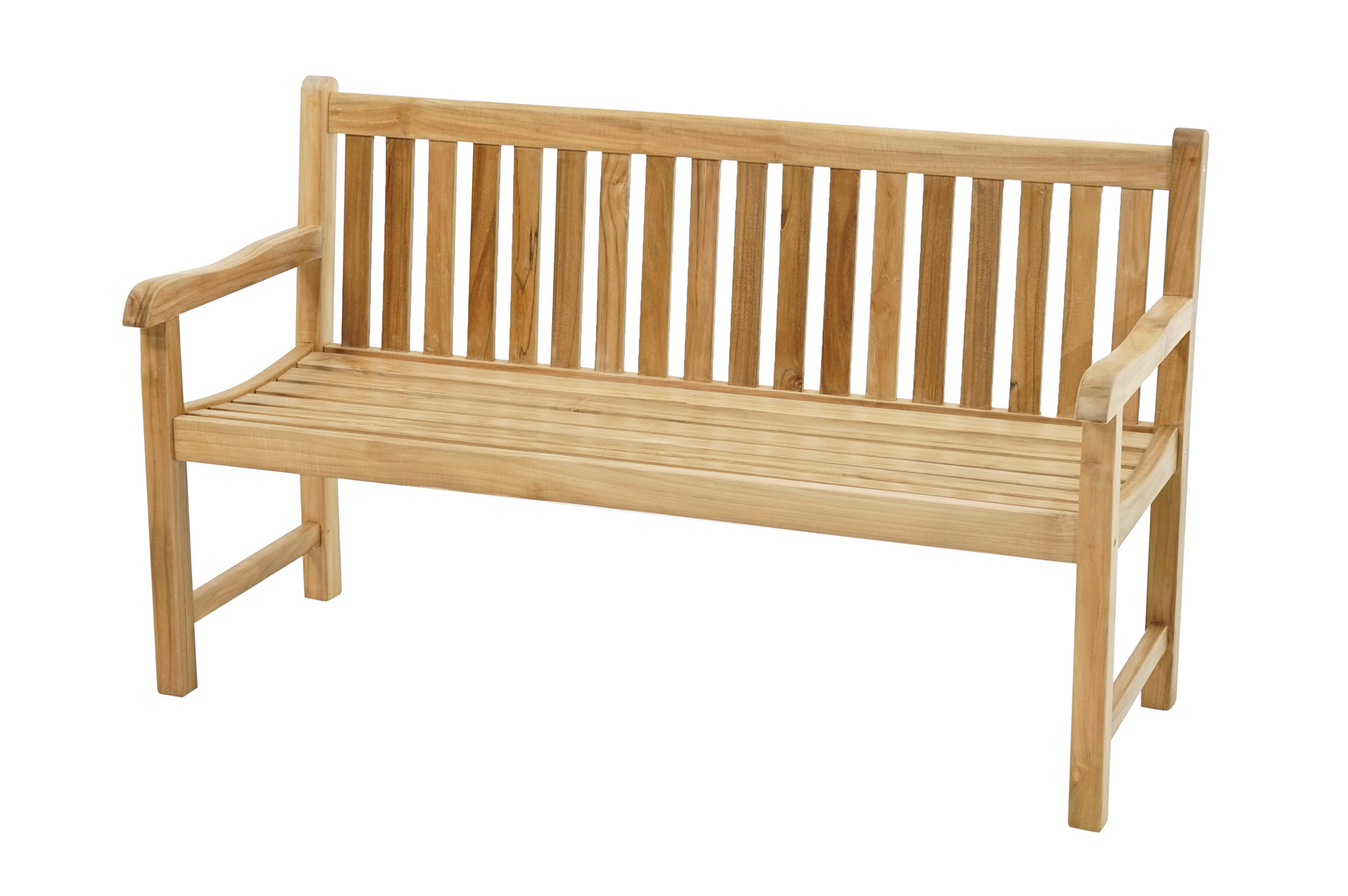 landhausbank coventry premium teak 150cm gartenb nke. Black Bedroom Furniture Sets. Home Design Ideas
