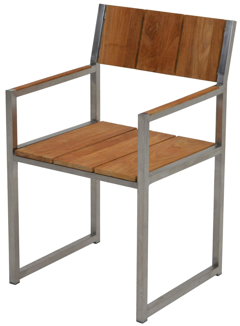 sessel new york teak edelstahl st hle sale gardanio ihr online shop f r hochwertige. Black Bedroom Furniture Sets. Home Design Ideas