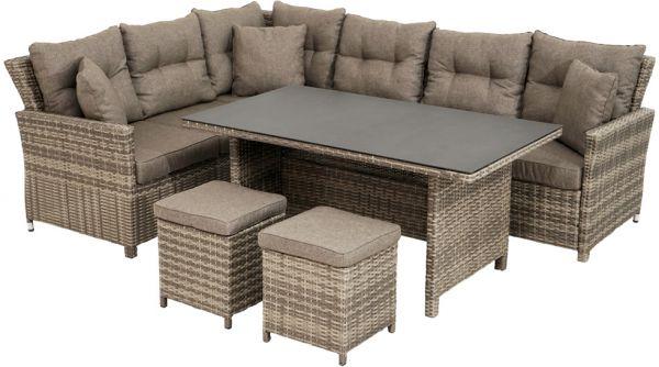Lounge-Set RABIDA Polyrattangeflecht