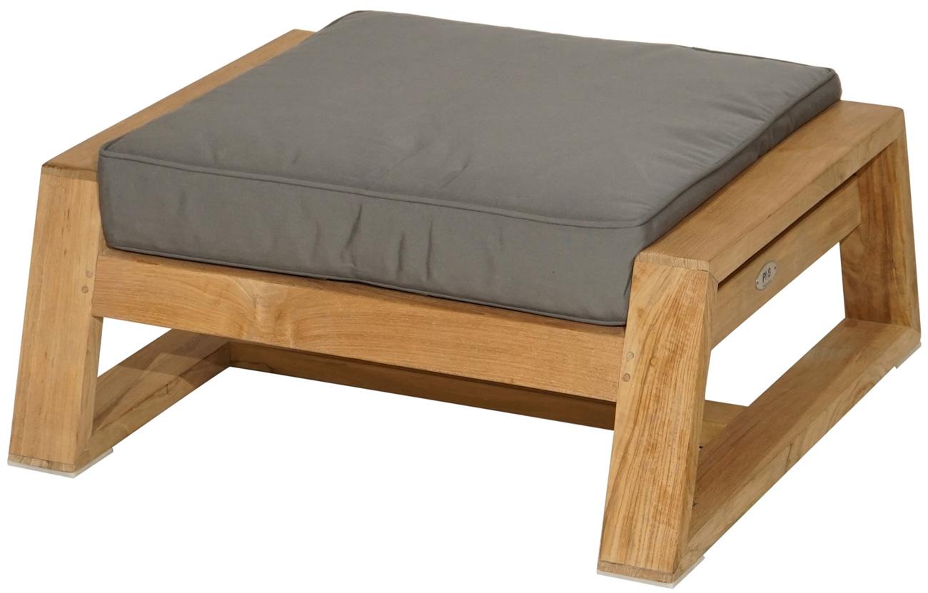 loungehocker martinique premium teak inkl polster loungem bel gartenm bel gardanio ihr. Black Bedroom Furniture Sets. Home Design Ideas