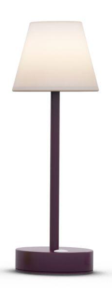 Tischleuchte LOLASLIM 30cm plum