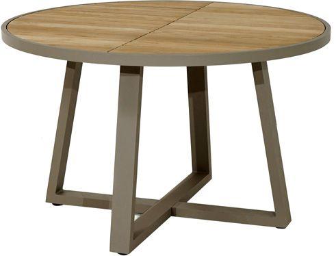 Tisch JARDIN Teak-Aluminium Ø 125cm