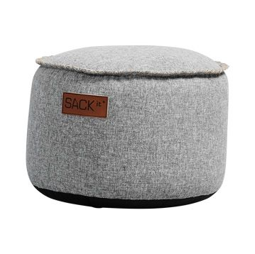 SACKit Cobana Pouf Light Grey
