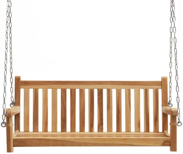 Schaukelbank VIRGINIA 130cm, ECO Teak
