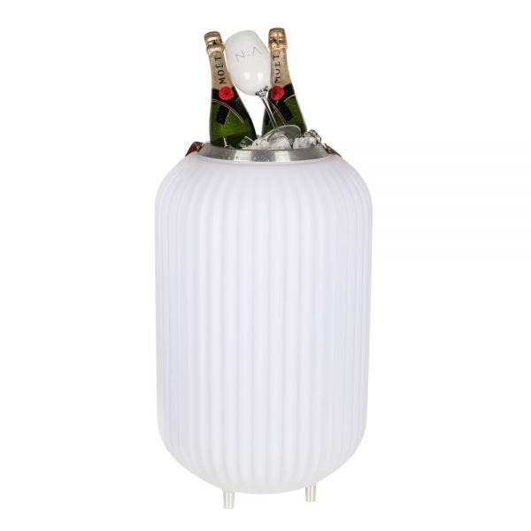 Lampion L MULTICOLOR Lampe, Bluetooth Lautsprecher & Weinkühler
