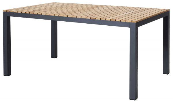 Gartentisch MOOD Teak-Aluminium anthrazit 168cm