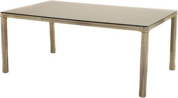 Tisch SAHARA Polyrattangeflecht 180x110cm