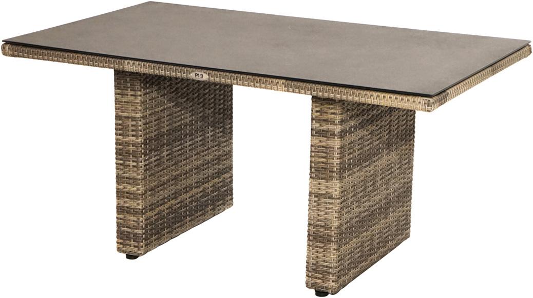 kaffeetisch rabida polyrattangeflecht 140x85cm loungem bel gartenm bel gardanio ihr. Black Bedroom Furniture Sets. Home Design Ideas