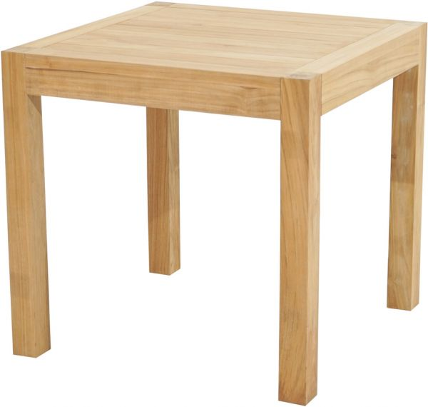 Diningtisch NEW HAVEN Premium Teak 80x80cm