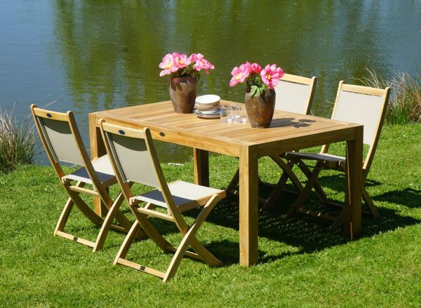gartenm bel diningset 5 tlg richmond new haven set angebote gartenm bel gardanio ihr. Black Bedroom Furniture Sets. Home Design Ideas