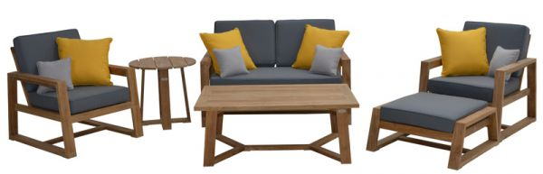 Lounge-Set SEATTLE, Teak FSC 100%