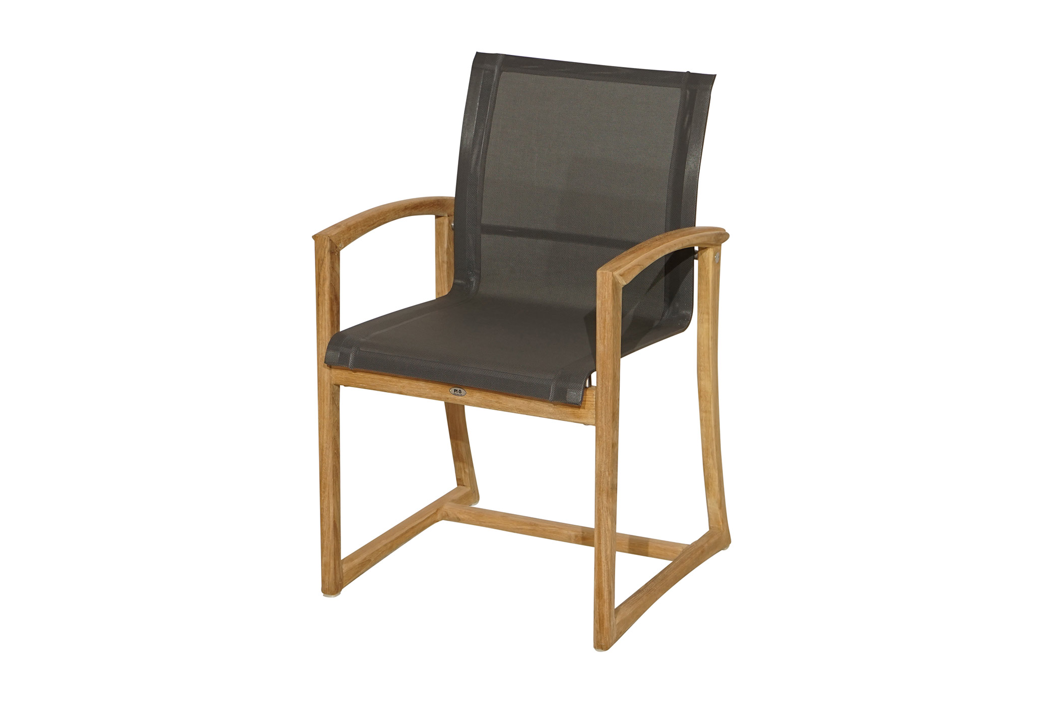 stuhl formentera teak wetterfeste textilbespannung gartenst hle gartenst hle gartenm bel. Black Bedroom Furniture Sets. Home Design Ideas